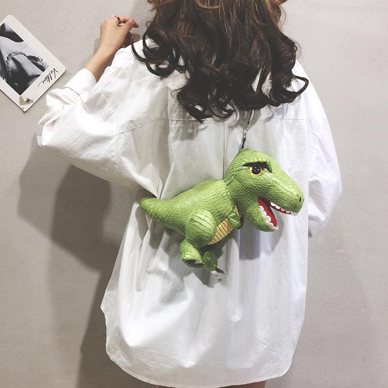 链条迷你包 女包搞怪小包包女2020新款时尚单肩恐龙仙女包迷你蹦迪链条斜挎包_推荐淘宝好看的女链条迷你包