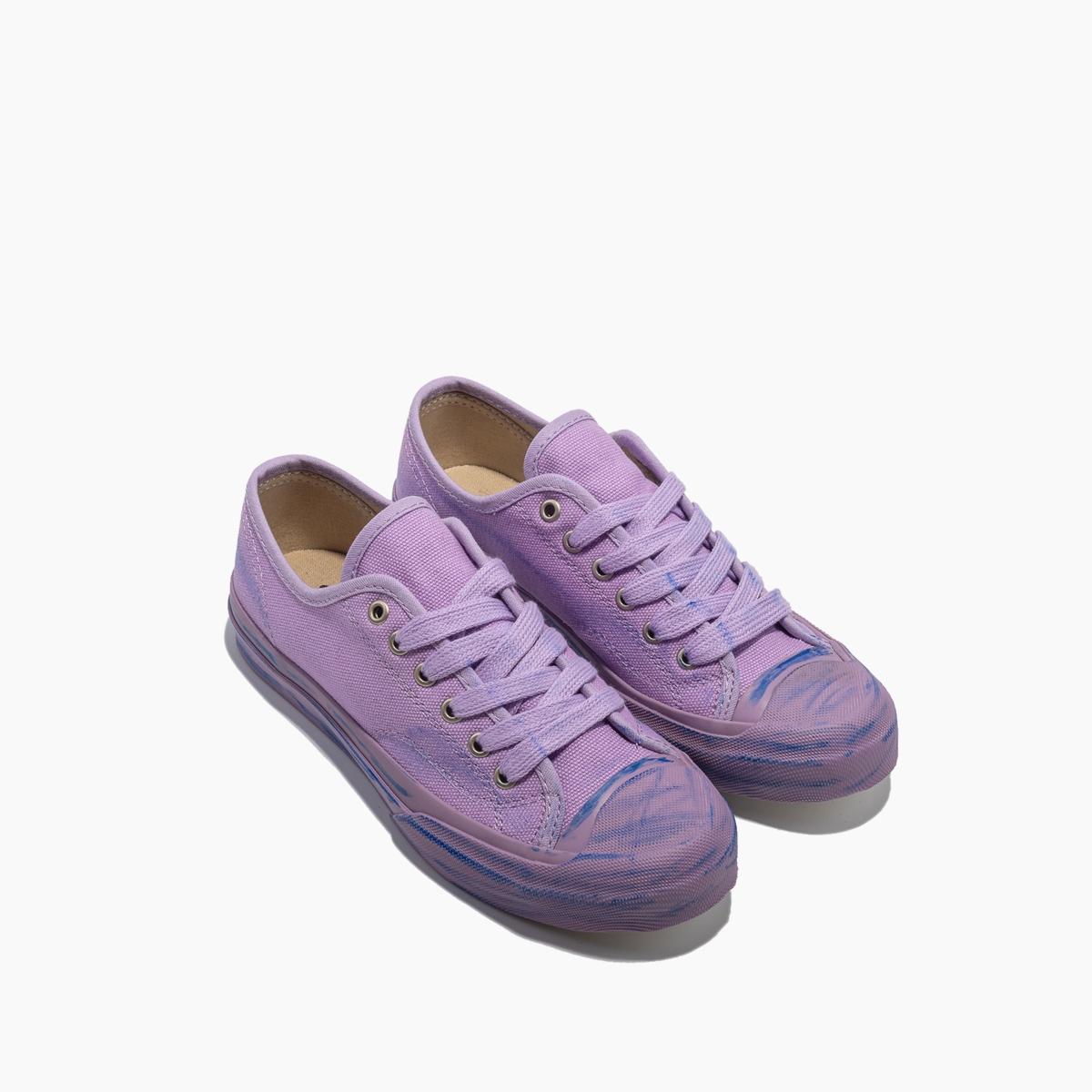 紫色帆布鞋 2019新款紫色帆布鞋山本风日系百搭小脏鞋复古vintage硫化鞋原宿_推荐淘宝好看的紫色帆布鞋