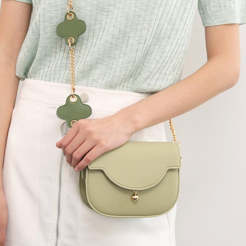 绿色迷你包 2020新款夏天迷你小包包牛油果绿色花朵减龄链条包ins百搭斜挎包_推荐淘宝好看的绿色迷你包