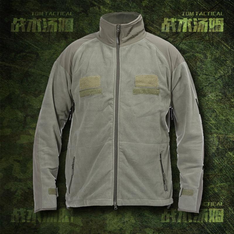 绿色风衣 GEN III L3 抓绒衣 TAD秋冬户外军绿色厚保暖抓绒风衣 国产复刻款_推荐淘宝好看的绿色风衣