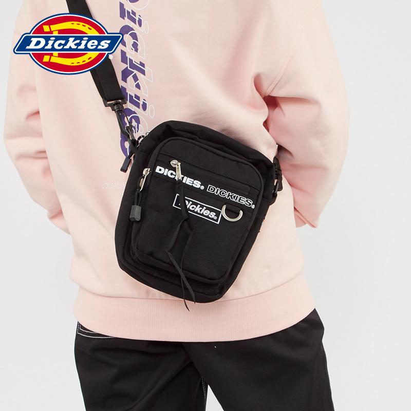 品牌斜挎包 Dickies印花织带潮流ins男女同款休闲单肩包多功能斜挎包DK006953_推荐淘宝好看的女斜挎包