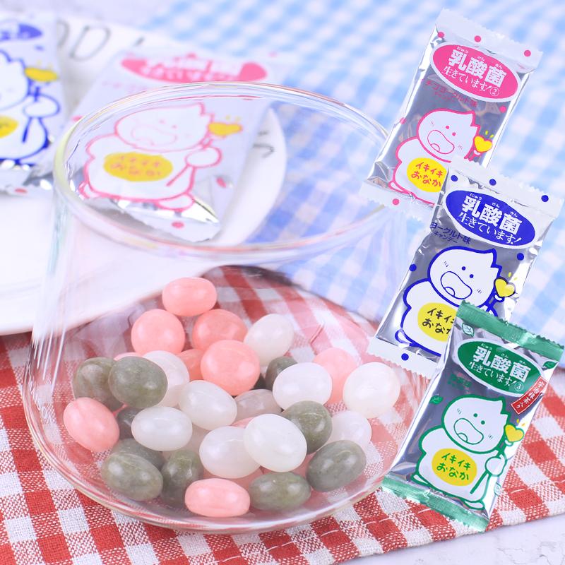 达芙妮糖果包 日本进口零食品 吉向KIKKO八尾浓缩乳酸菌糖果30包草莓味玻珠仔糖_推荐淘宝好看的达芙妮糖果包