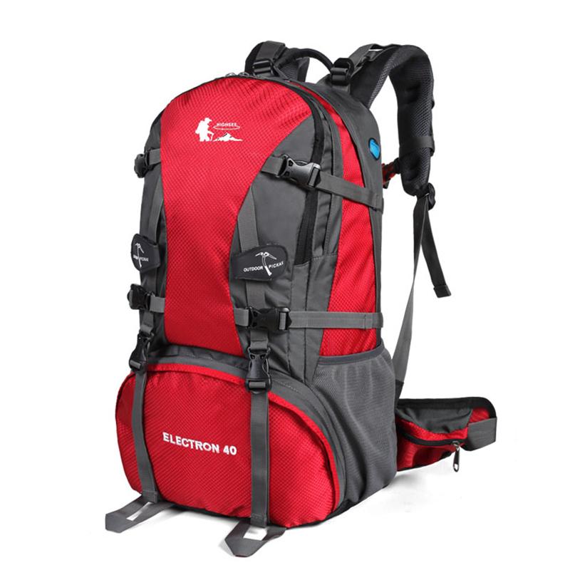 绿色双肩包 登山包40L50L户外背包户外包男女旅行旅游双肩包徒步野营通用绿色_推荐淘宝好看的绿色双肩包