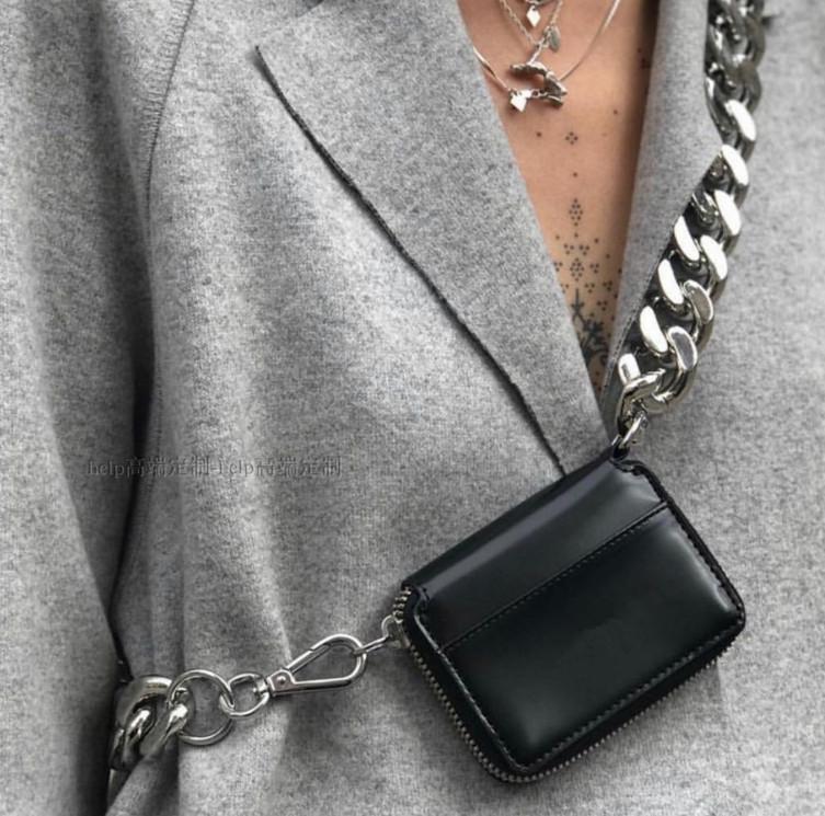 欧美迷你包 包包女2021新款欧美潮牌粗链条迷你斜挎包胸包ins超火钱包零钱包_推荐淘宝好看的女欧美迷你包