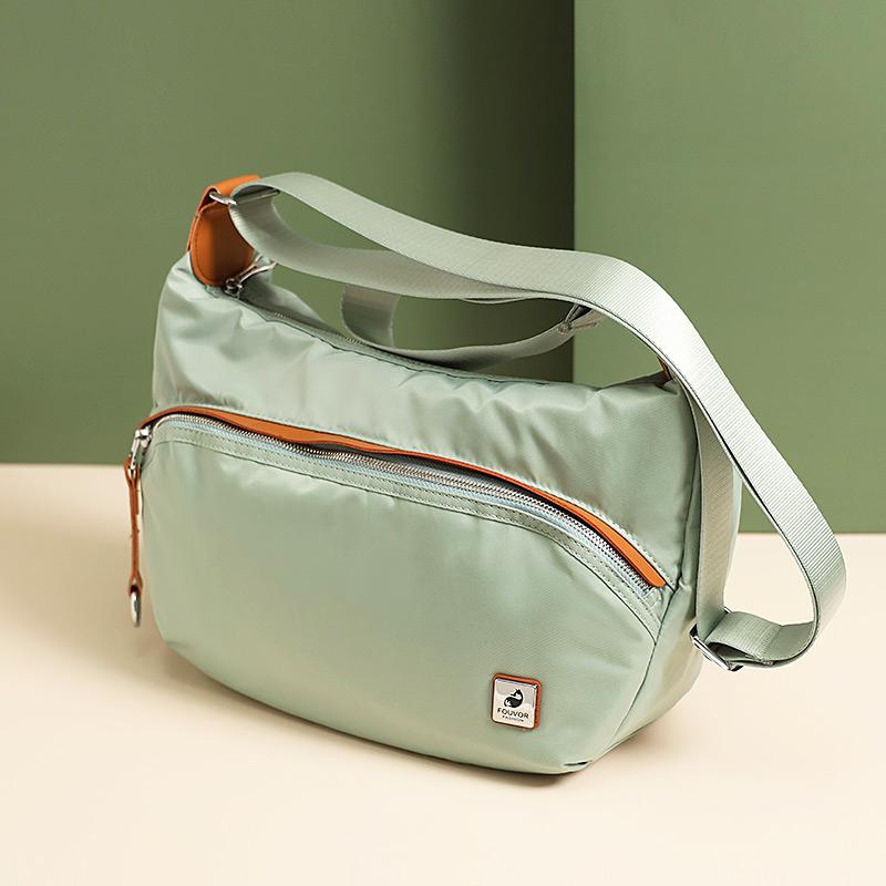 绿色斜挎包 时尚女士单肩斜挎包2020新款女包个性百搭女士帆布包休闲小包包女_推荐淘宝好看的绿色斜挎包