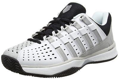 网球鞋 代购 K-Swiss盖世威 运动鞋 男士Hypermatch白灰黑透气耐磨网球鞋_推荐淘宝好看的男网球鞋