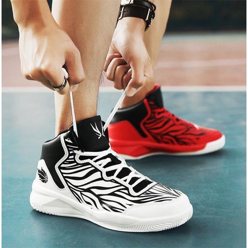 篮球鞋 左右两只脚不一样颜色的男士篮球鞋初秋新款增高运动鞋潮男鸳鸯鞋_推荐淘宝好看的男篮球鞋