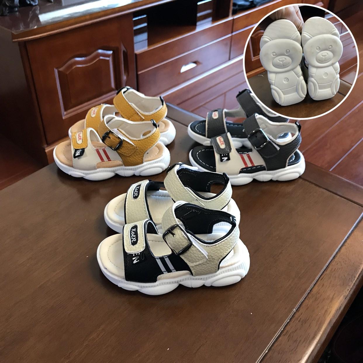 女童凉鞋 宝宝凉鞋男1-3岁2透气防滑软底女童夏季儿童小孩小童鞋婴儿学步鞋_推荐淘宝好看的儿女童凉鞋