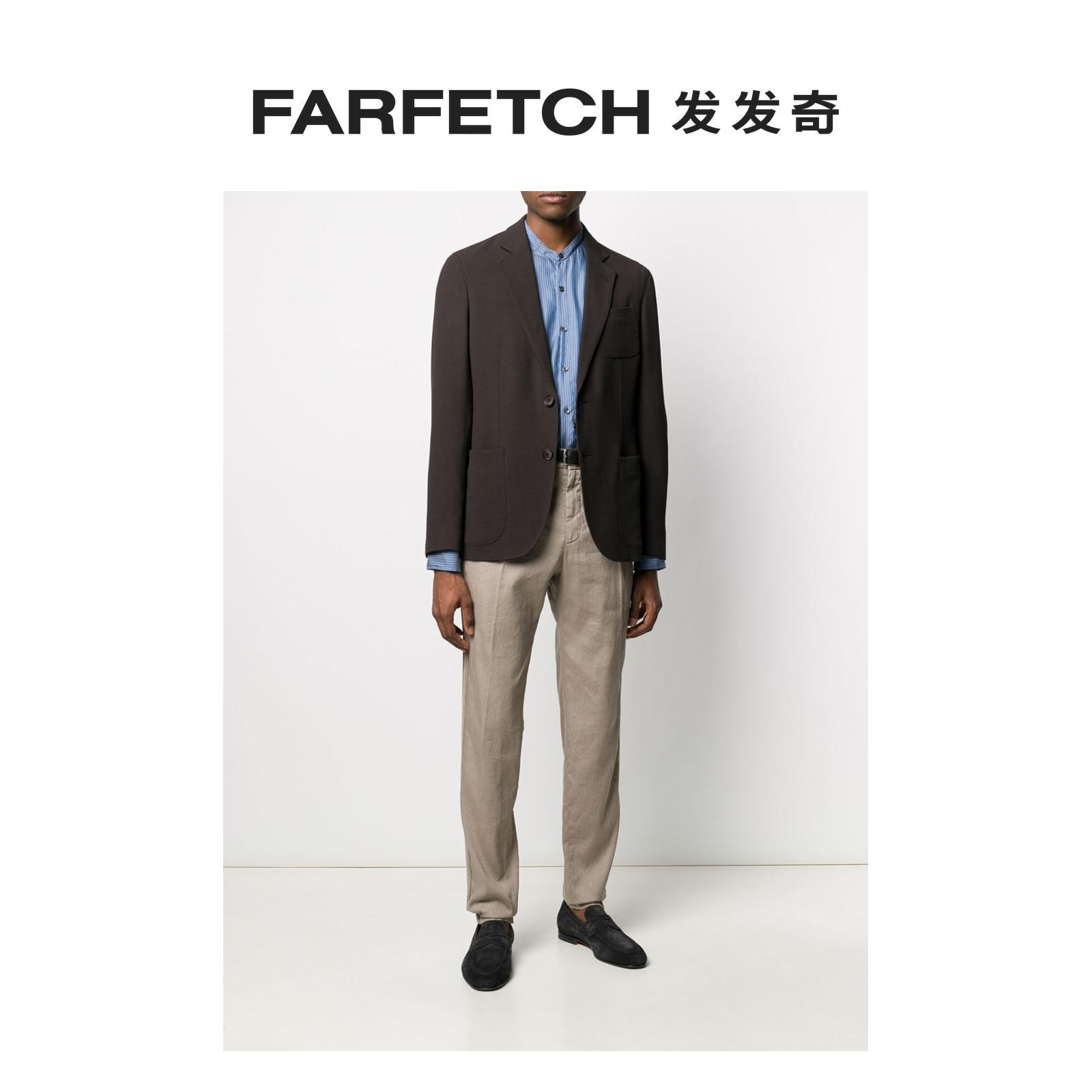 阿玛尼男士西装 Giorgio Armani阿玛尼男士轻薄纽扣西装夹克FARFETCH发发奇_推荐淘宝好看的阿玛尼男西装