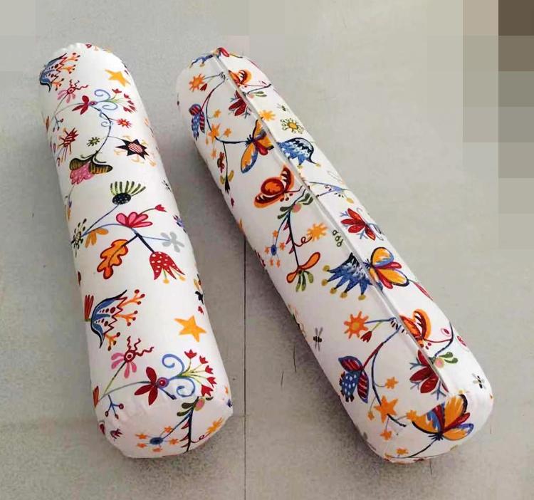田园糖果包 正品田园风格 圆柱体形抱枕软包糖果形靠枕套印花 帆布艺靠包_推荐淘宝好看的田园糖果包