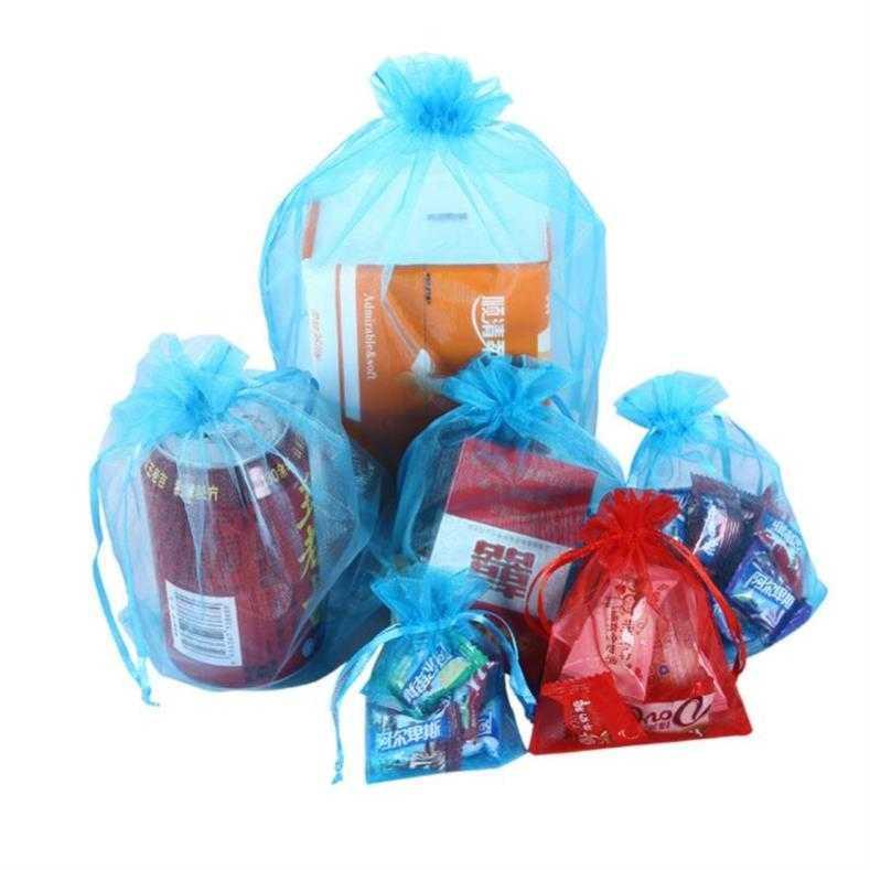 紫色糖果包 。薄款沙袋纱布简约送礼紫色礼品包a装袋网糖果彩色蓝色采纱袋子_推荐淘宝好看的紫色糖果包