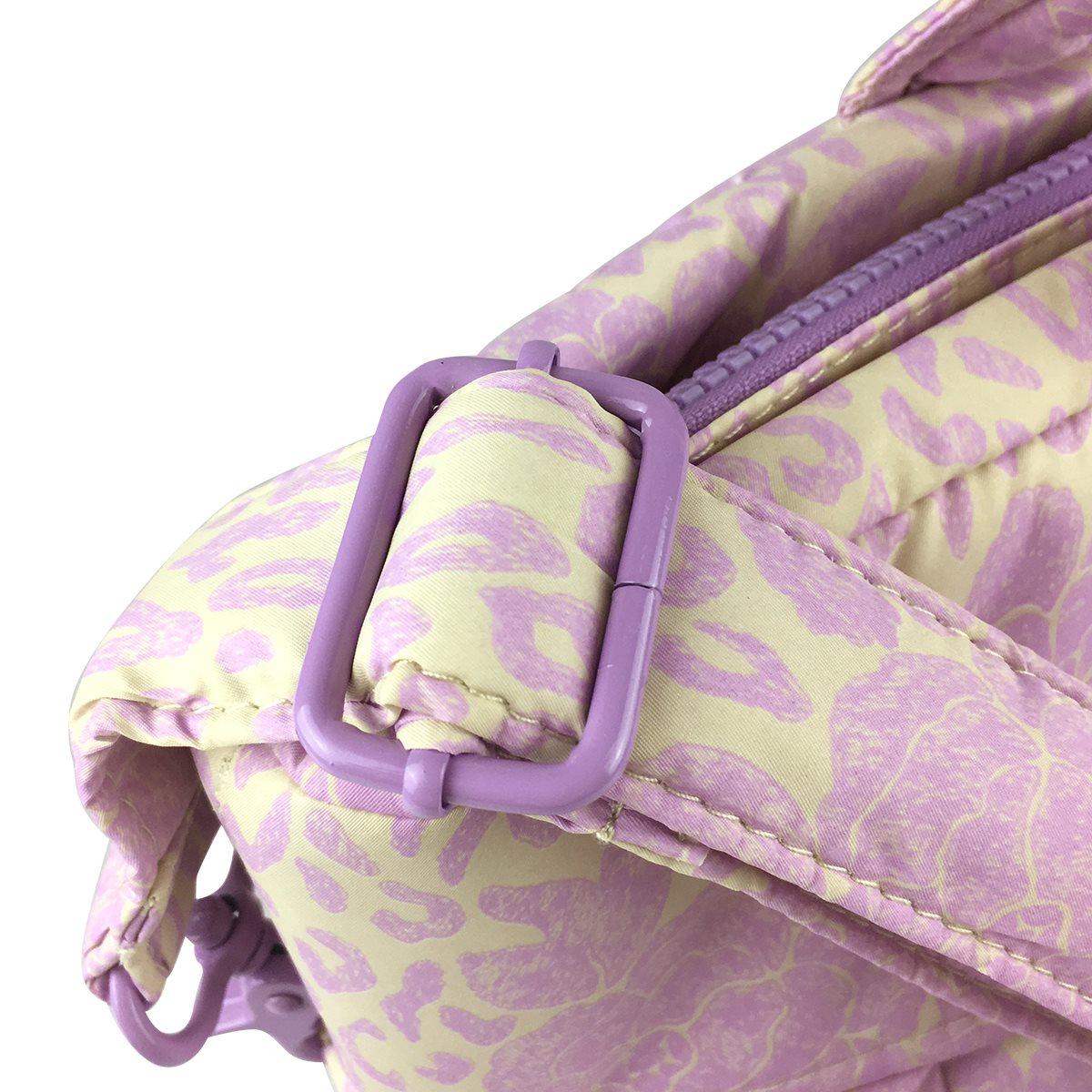 粉红色邮差包 VOVAROVA反折邮差包粉红色运动机能背包单肩包斜s挎包女士国潮包._推荐淘宝好看的粉红色邮差包