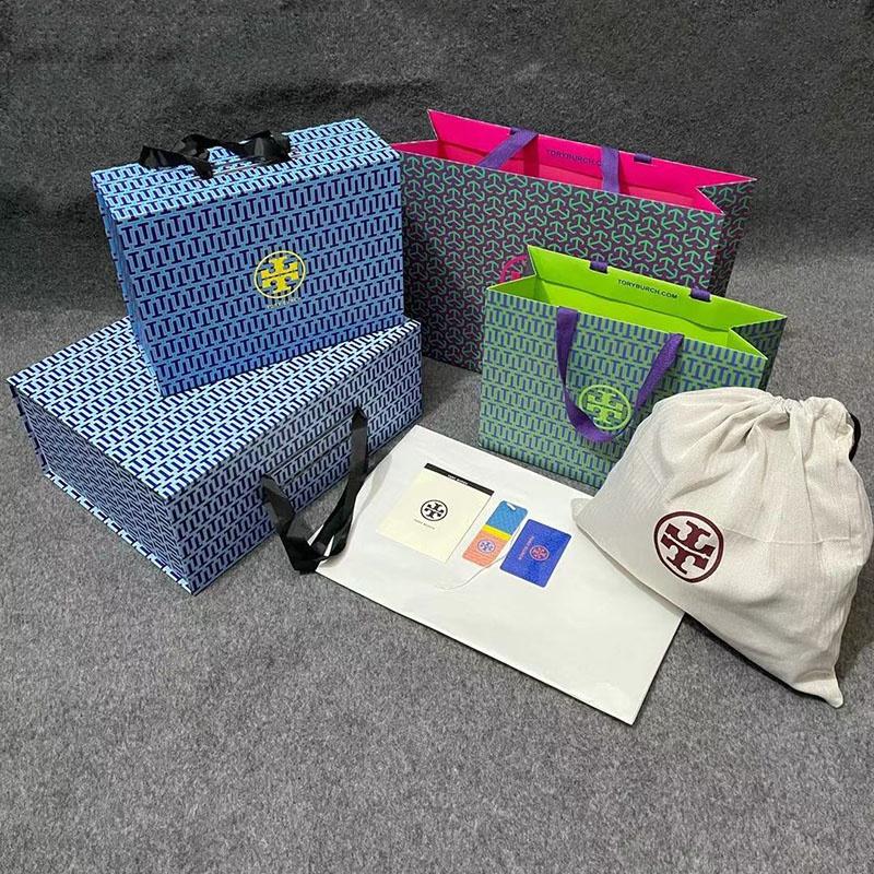 高档时尚手提包 托里伯奇Tory Burch原版高档包装袋女包包礼品盒手提袋防尘布袋._推荐淘宝好看的女高档手提包