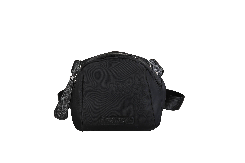 黑色贝壳包 自制包包新款2021夏季潮范多功能黑色贝壳女包牛津布单肩斜挎包_推荐淘宝好看的黑色贝壳包