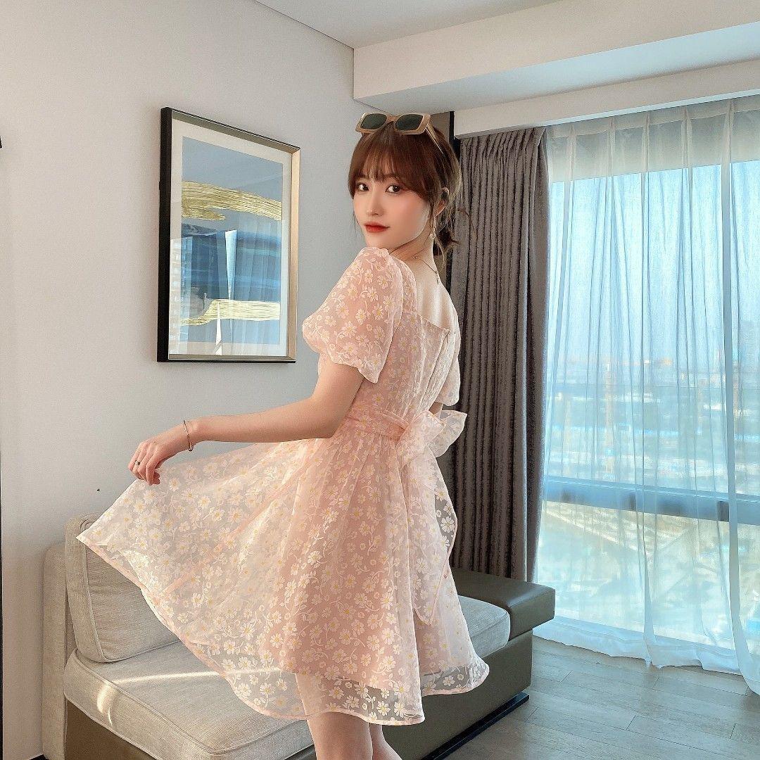 白色修身连衣裙 连衣裙蕾遮肚裙子新款2021夏季长款性感修身显瘦遮肚仙气飘飘白色_推荐淘宝好看的白色修身连衣裙