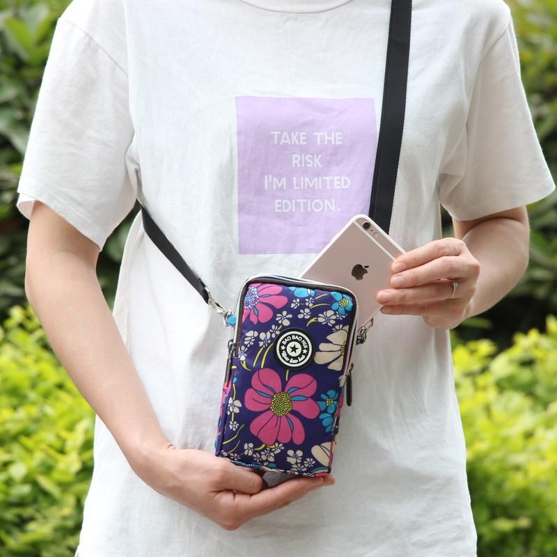 粉红色迷你包 新款韩版百搭装手机包女斜挎包手腕零钱包夏季单肩竖款迷你小包包_推荐淘宝好看的粉红色迷你包