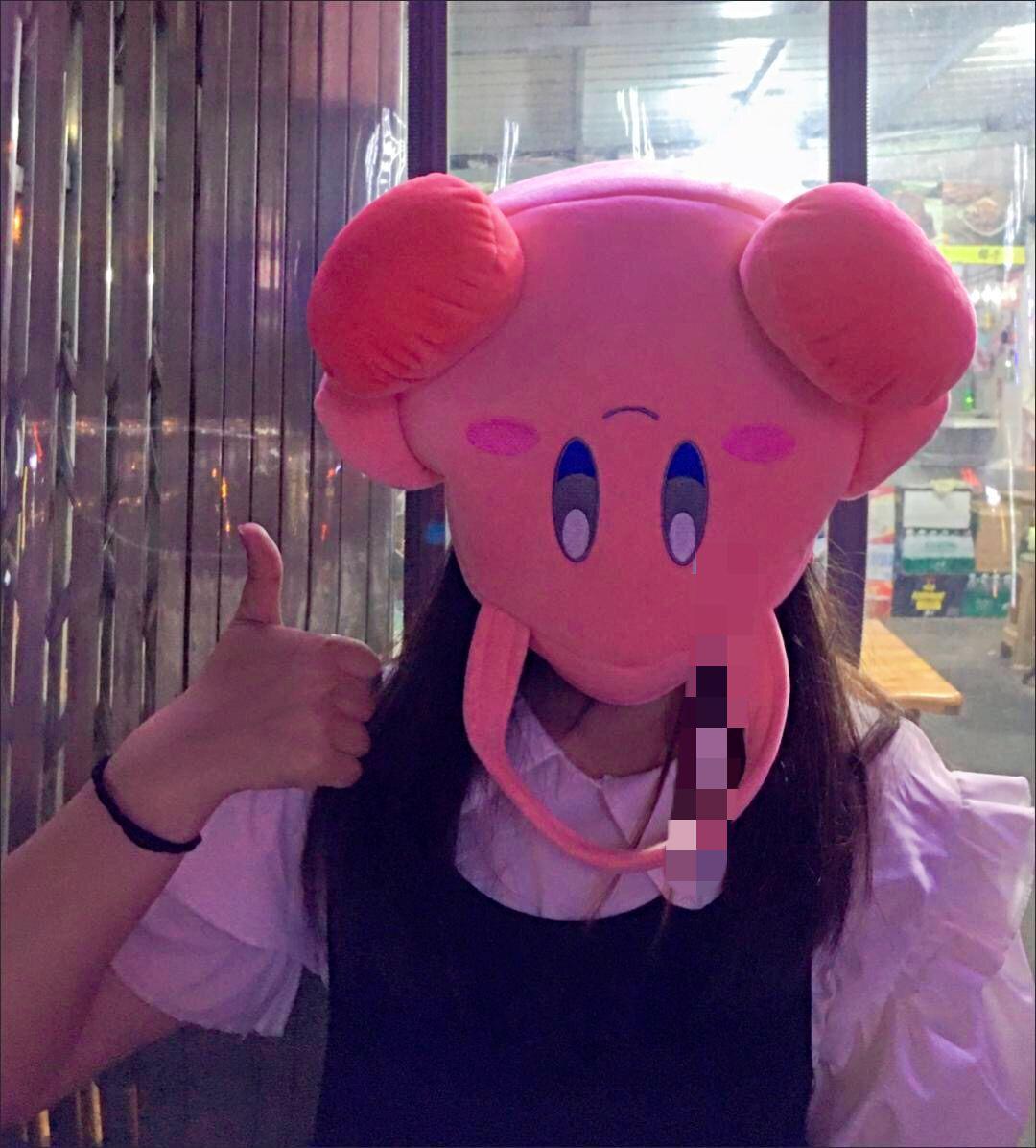 粉红色手提包 ins少女心套头日本星之卡比手提包软妹学生粉红色毛绒便当包包女_推荐淘宝好看的粉红色手提包