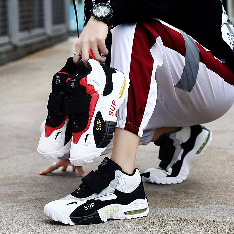篮球鞋 朋友鞋子初中打篮球冬季男鞋男篮球中学男朋友运动鞋喜欢加绒送礼_推荐淘宝好看的男篮球鞋