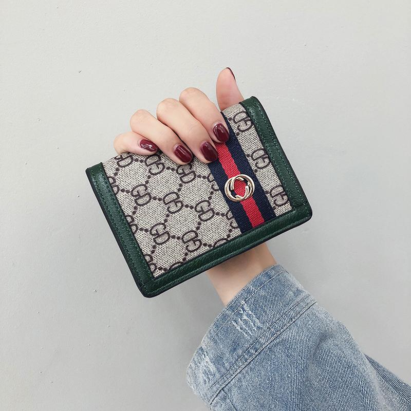 欧美款手拿包 钱包女短款2020新款韩版欧美复古小钱包百搭女士钱夹卡包手拿包女_推荐淘宝好看的女欧美手拿包