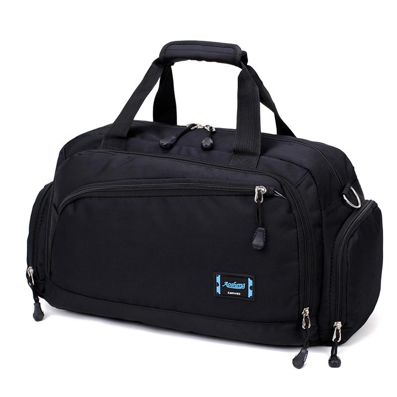 紫色手提包 特价大容量旅行包男手提旅游包短途行李包女登机包商务出差旅行袋_推荐淘宝好看的紫色手提包