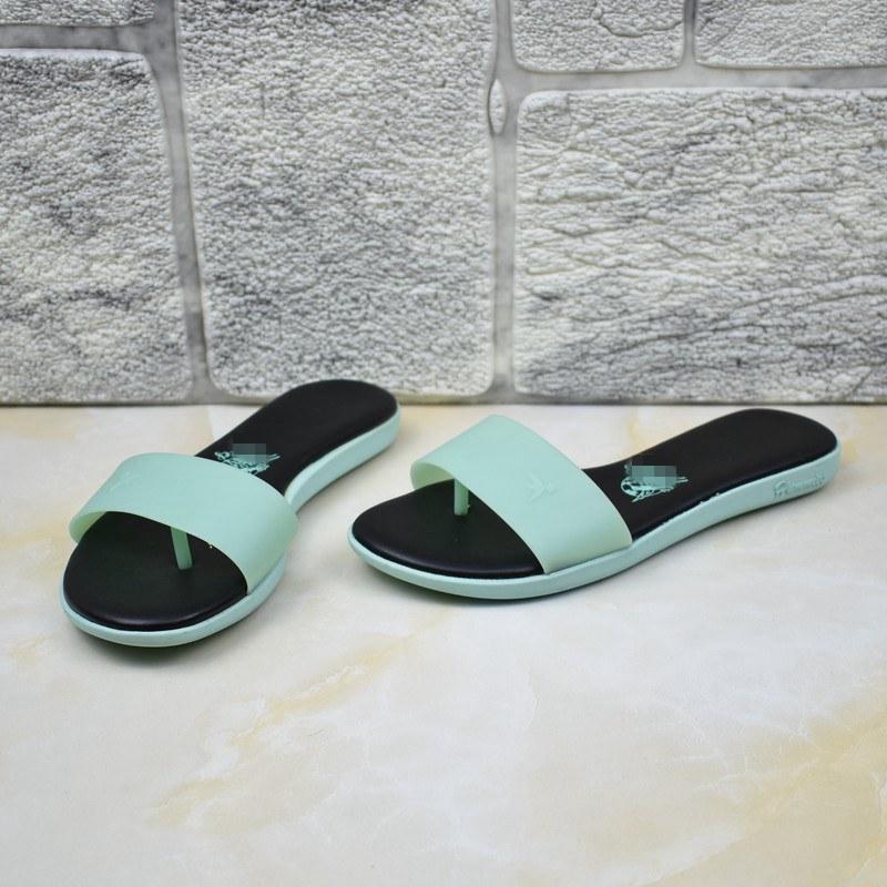 糖果色时尚平底鞋 外贸女鞋休闲平底百搭夏季舒适时尚外穿糖果色拖鞋_推荐淘宝好看的女糖果色时尚平底鞋