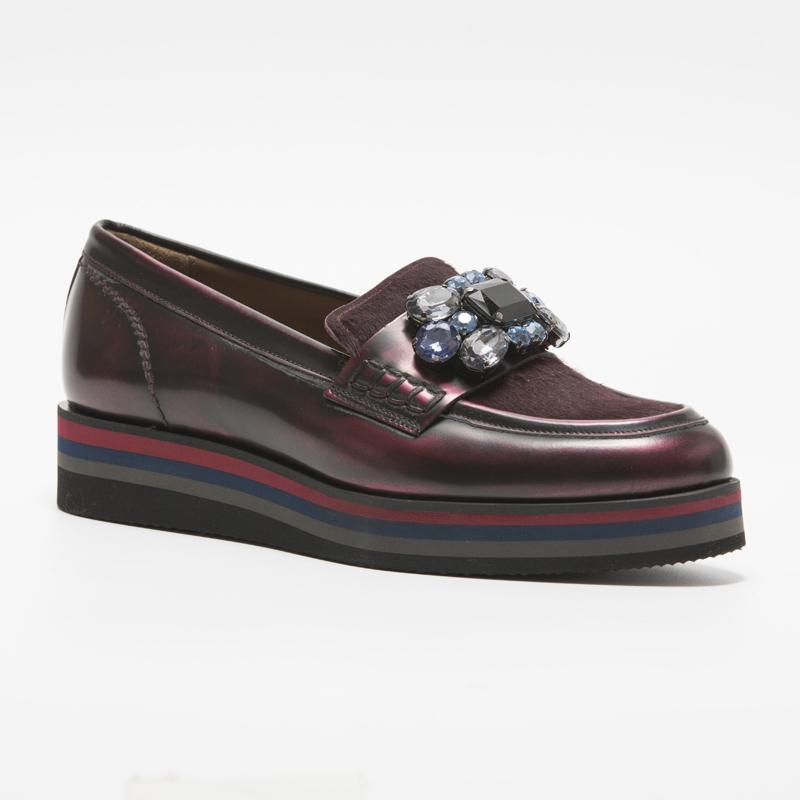 欧美松糕鞋 ECHIZA2020新款厚底松糕鞋休闲复古欧美低跟满钻时尚透气女款_推荐淘宝好看的女欧美松糕鞋