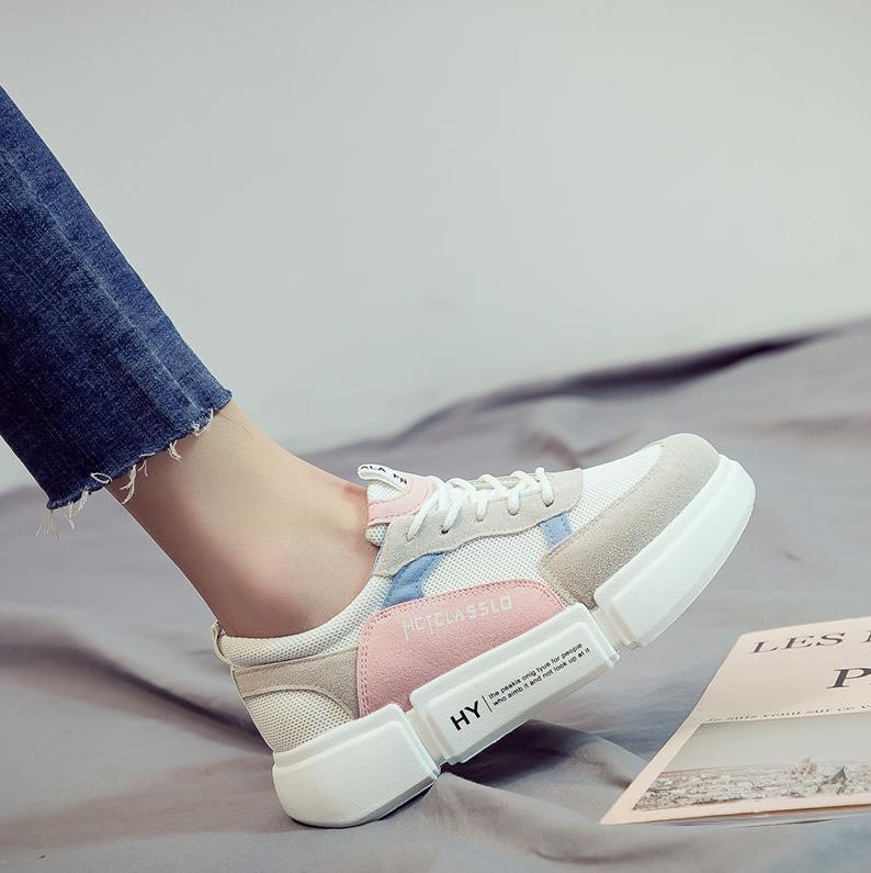 粉红色帆布鞋 海蓝色儿童外穿登山粘贴帆布鞋女男粉红色女童双面方格发黄印花4_推荐淘宝好看的粉红色帆布鞋