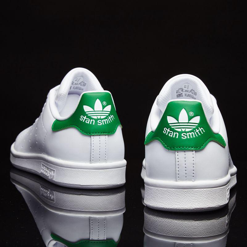 阿迪达斯运动鞋 阿迪达斯官网鞋男女鞋板鞋新款三叶草运动休闲鞋史密斯绿尾小白鞋_推荐淘宝好看的女阿迪达斯运动鞋