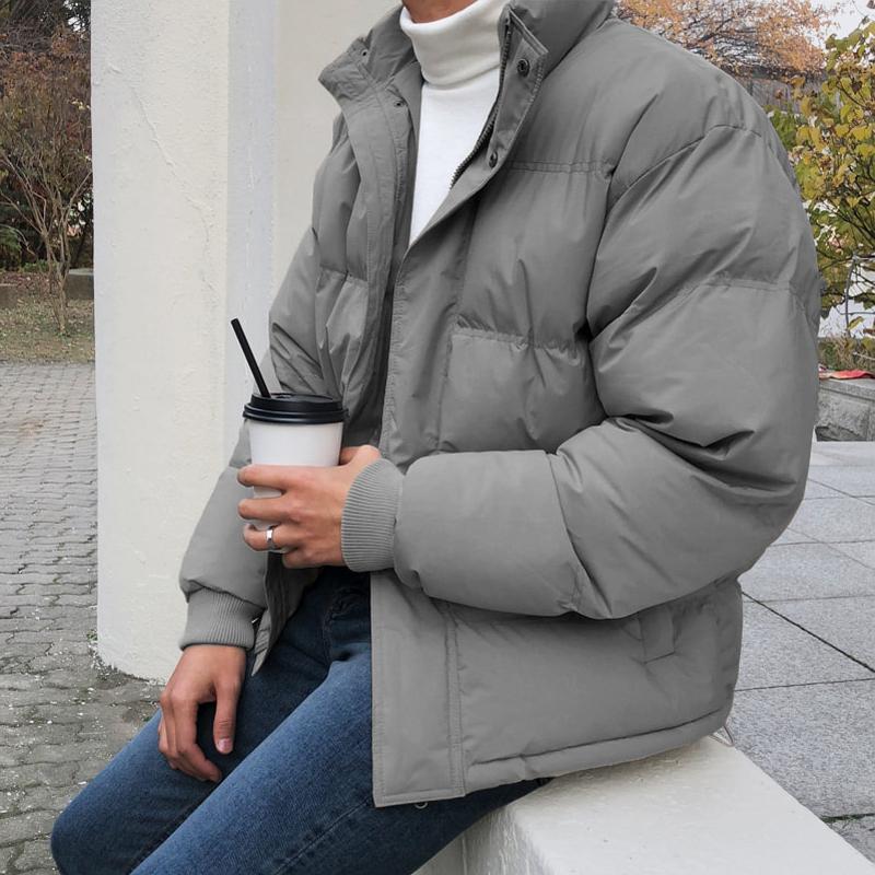 男士休闲棉衣 MRCYC冬季男士棉衣加厚宽松休闲学生面包服韩版潮流帅气棉袄外套_推荐淘宝好看的男休闲棉衣