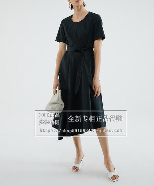 玛丝菲尔女装正品 【商场正品】玛丝菲尔专柜正品 2021年夏款连衣裙A1BW21126原4280_推荐淘宝好看的玛丝菲尔正品