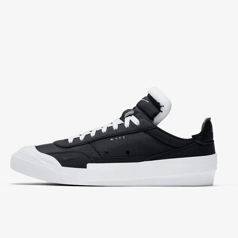 耐克老款运动鞋 耐克男女鞋春季新款DROP-TYPE运动休闲板鞋AV6697-001 CN6916-100_推荐淘宝好看的女耐克运动鞋