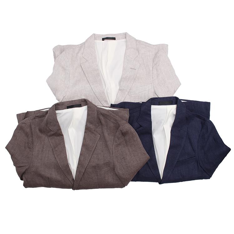 日本西装男 麻料便西!日系复古 Vintage 舒适面料单西 三色咔叽男式西服外套_推荐淘宝好看的日西装男