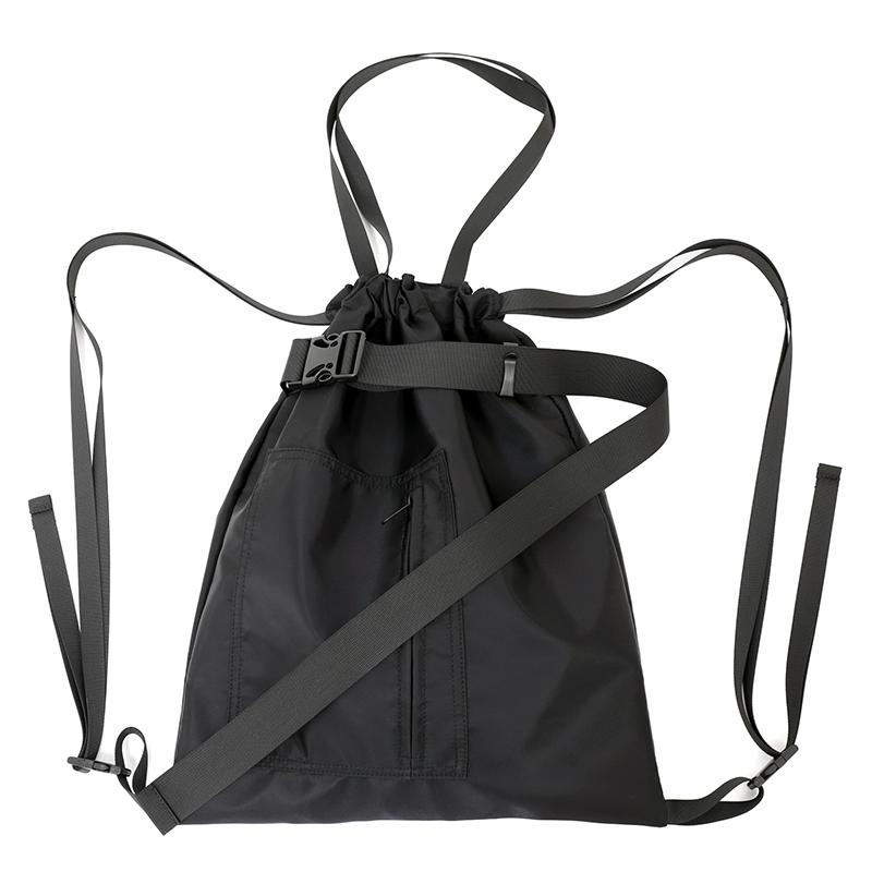 运动双肩包 束口袋尼龙运动健身包旅行袋男女中性单肩手提抽绳包书包双肩背潮_推荐淘宝好看的女运动双肩包