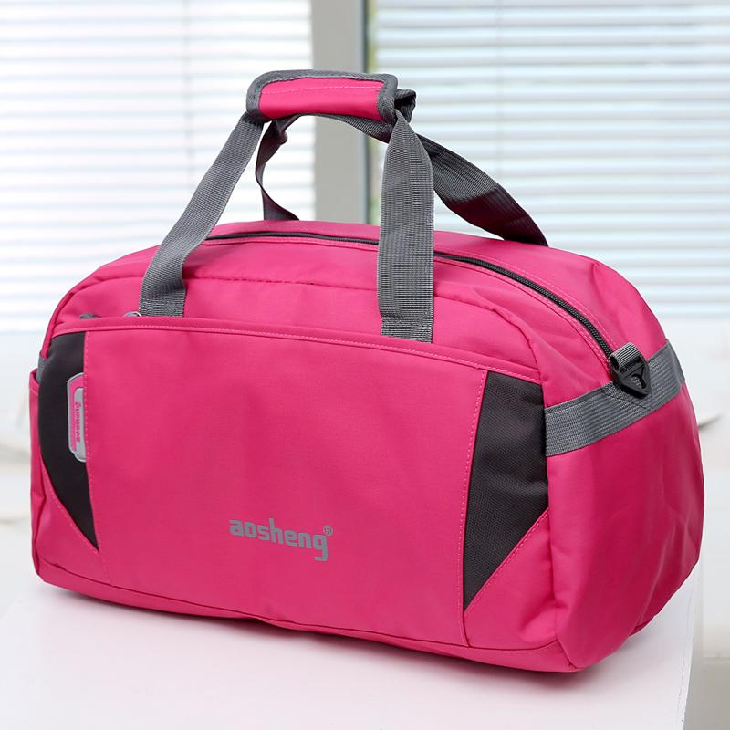 紫色手提包 新款大容量短途男士行李包手提旅行包女旅行袋行李袋旅游包健身包_推荐淘宝好看的紫色手提包