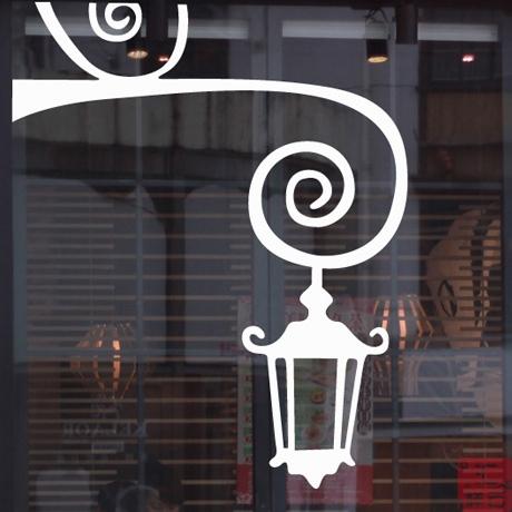 女装品牌 壁灯 女装 贴纸 包包鞋子服装店橱窗装饰 玻璃贴窗贴门贴墙贴_推荐淘宝好看的女装