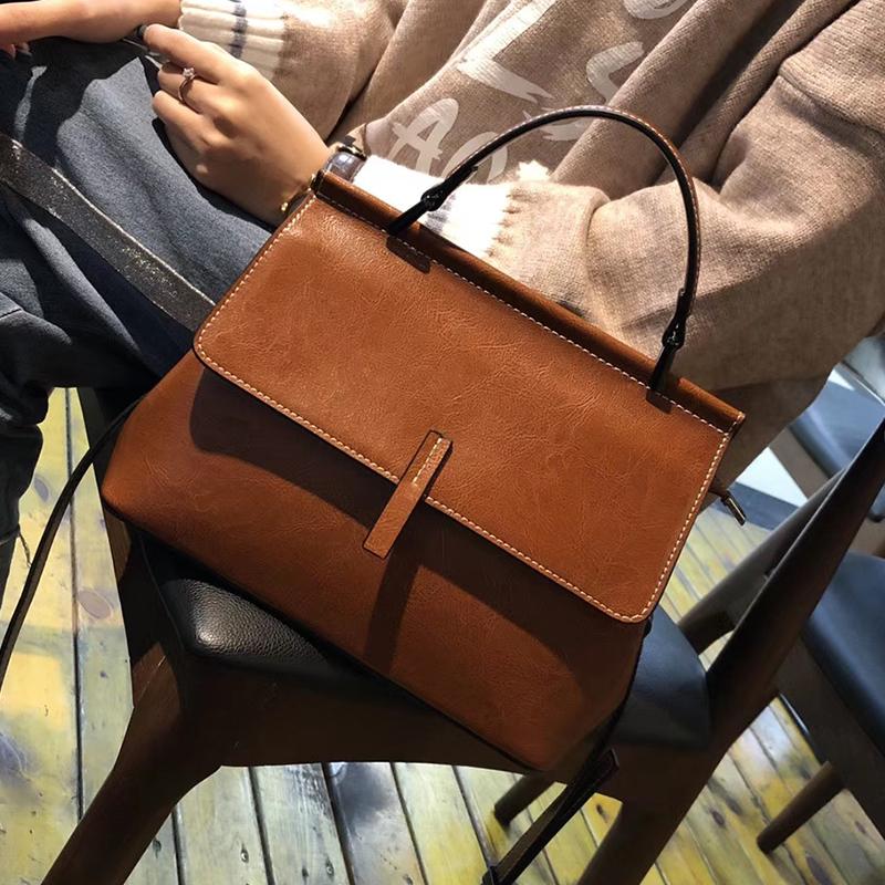 绿色手提包 包包2020新款潮秋季女士大容量斜挎包小ck时尚真皮手提包气质女包_推荐淘宝好看的绿色手提包