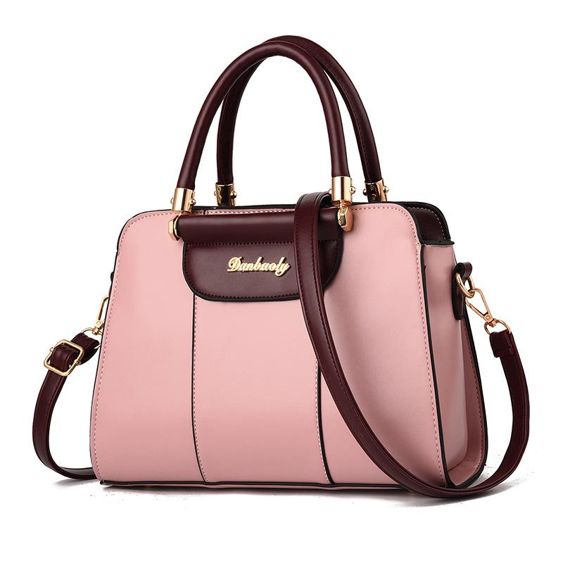 粉红色手提包 包包女包2019新款韩版百搭女士小包单肩手提斜挎包_推荐淘宝好看的粉红色手提包