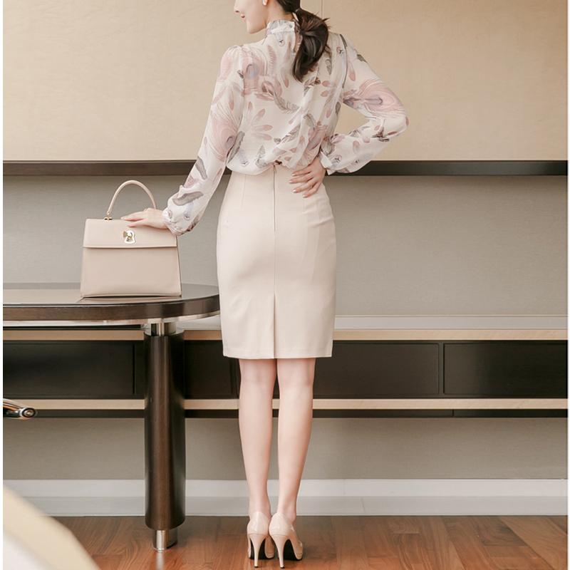 白色半身裙 白色包臀半身裙女春秋  黑色高腰短裙百搭显瘦中长职业开叉一步裙_推荐淘宝好看的白色半身裙