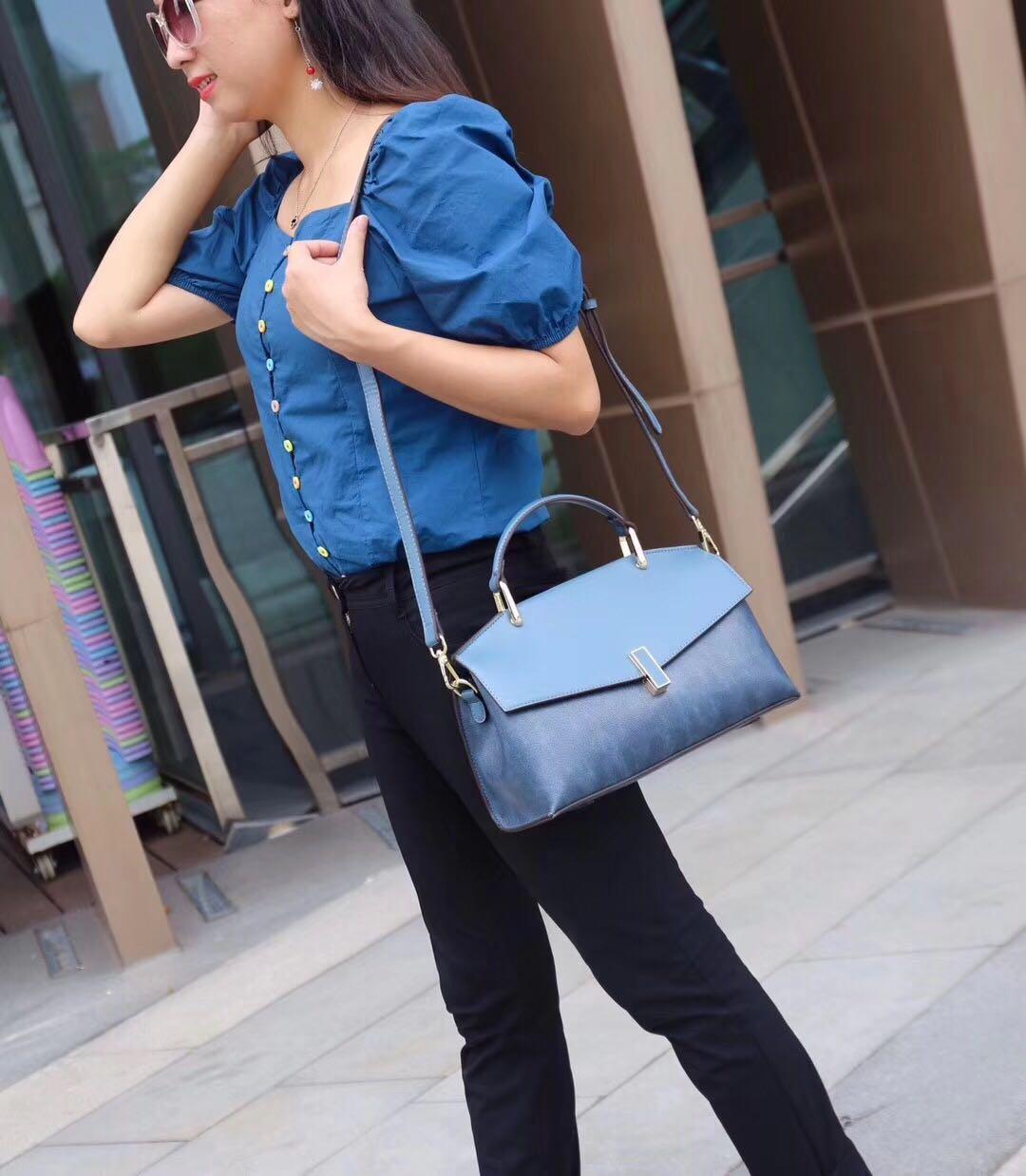 糖果色时尚手提包 新款撞色大容量手提包森系糖果色韩版时尚休闲百搭网红同款女包_推荐淘宝好看的女糖果色手提包