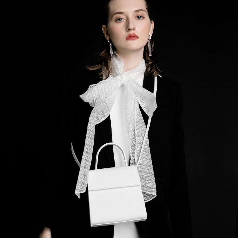 白色迷你包 INJOYLIFE手提包女小包2021新款手拎时尚迷你白色包包单肩斜挎包_推荐淘宝好看的白色迷你包