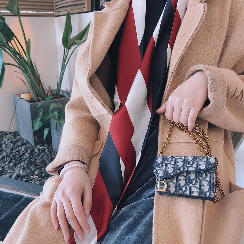 迪奥手提包 适用迪奥包链条带dior腰包链条卡包零钱包改造包包手提带配件斜跨_推荐淘宝好看的迪奥手提包