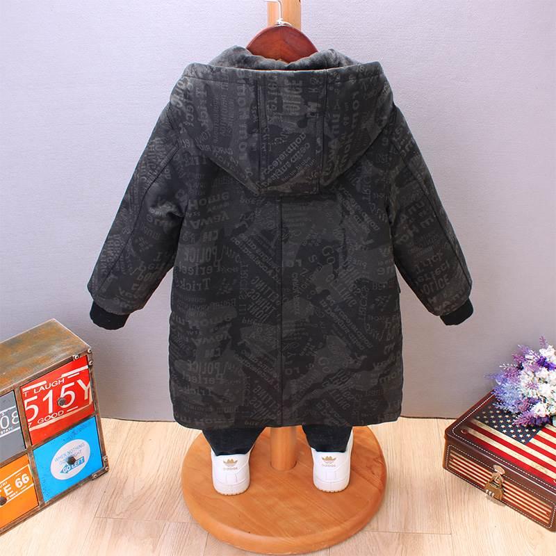 pu夹克 秋冬男童宝宝PU皮大衣新款2020潮儿童皮衣加厚外套洋气中长款夹克_推荐淘宝好看的男pu夹克