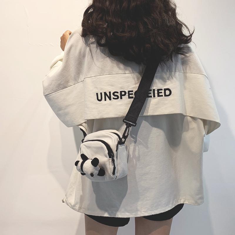包包 迷你小包包女包新款2020日系学生百搭斜挎包女ins网红可爱帆布包_推荐淘宝好看的女包包