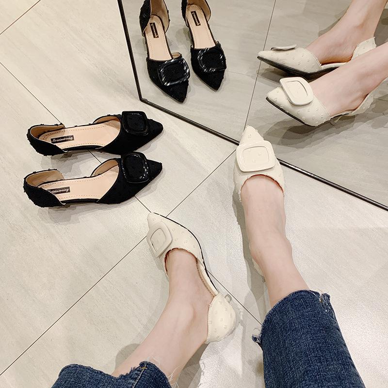 高跟rv鞋子 夏季tb配裙子的鞋子rv色非cl小米爱品牌女鞋旗舰店官方仙女高跟鞋_推荐淘宝好看的高跟rv鞋子
