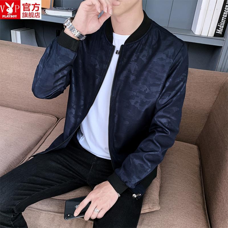 外套夹克 花花公子贵宾男士秋冬韩版休闲夹克潮流外套男装_推荐淘宝好看的男外套夹克