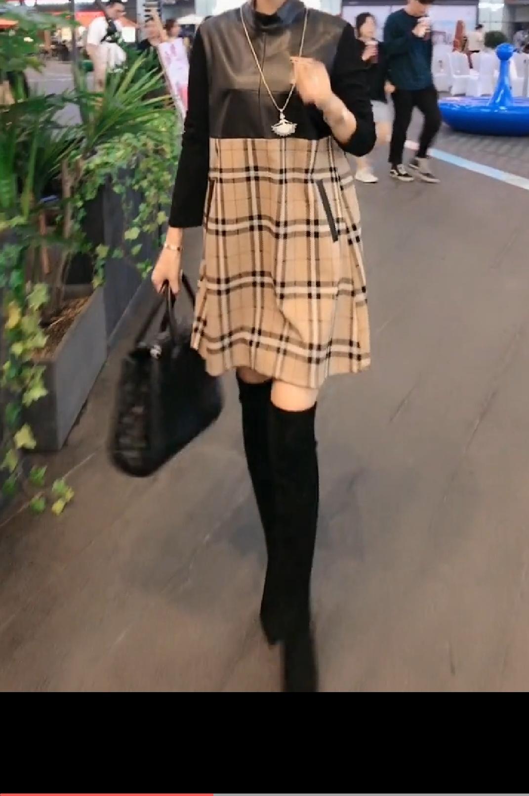 淘宝网女装连衣裙 768912019新款秋季时尚连衣裙_推荐淘宝好看的连衣裙