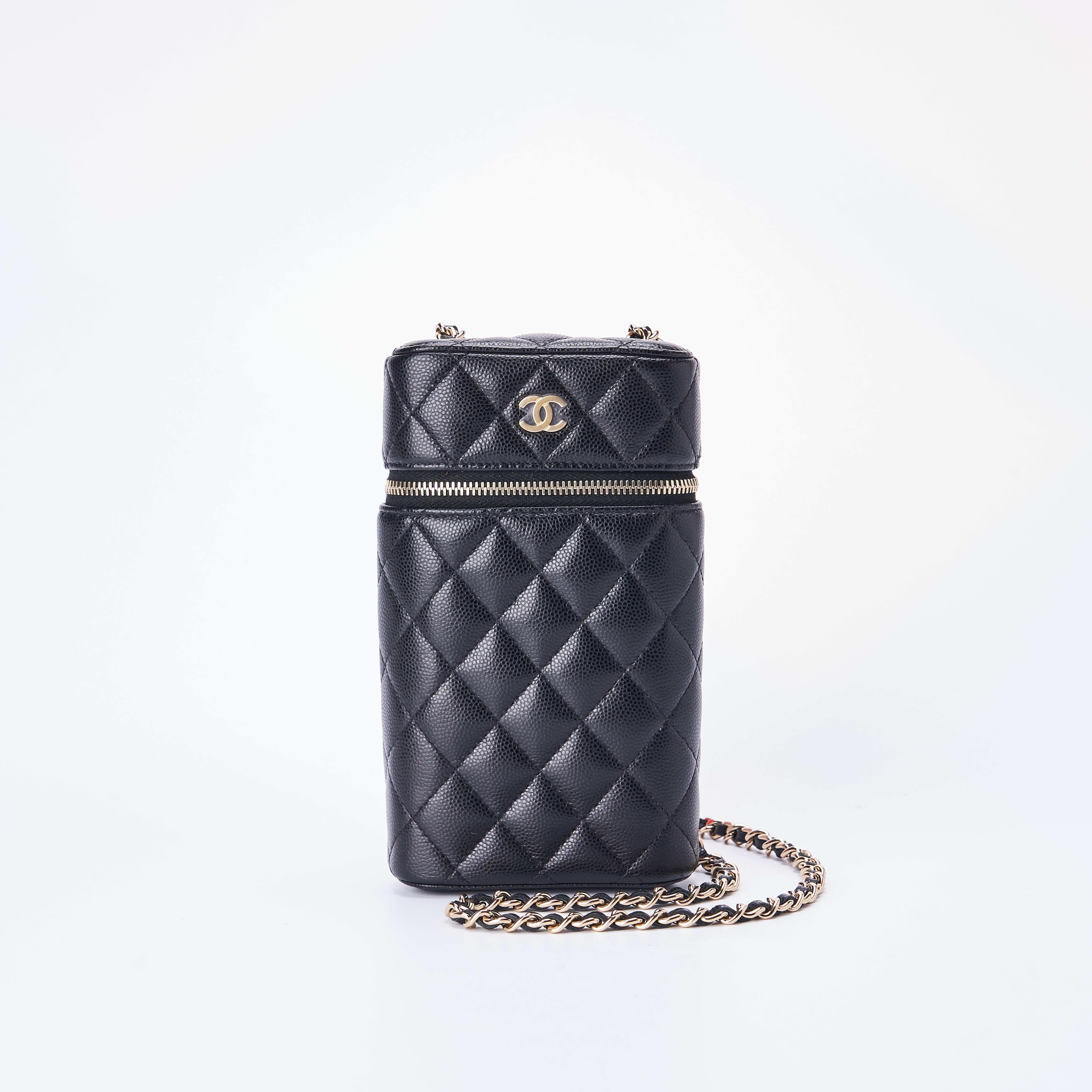 chanel链条包 临时【95新】Chanel香奈儿 链条手机包 17.5*10 公价¥12500_推荐淘宝好看的chanel链条包