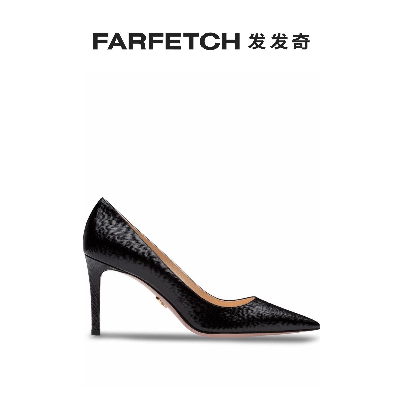 prada尖头鞋 [新品]Prada普拉达女士经典尖头高跟鞋FARFETCH发发奇_推荐淘宝好看的女prada尖头鞋