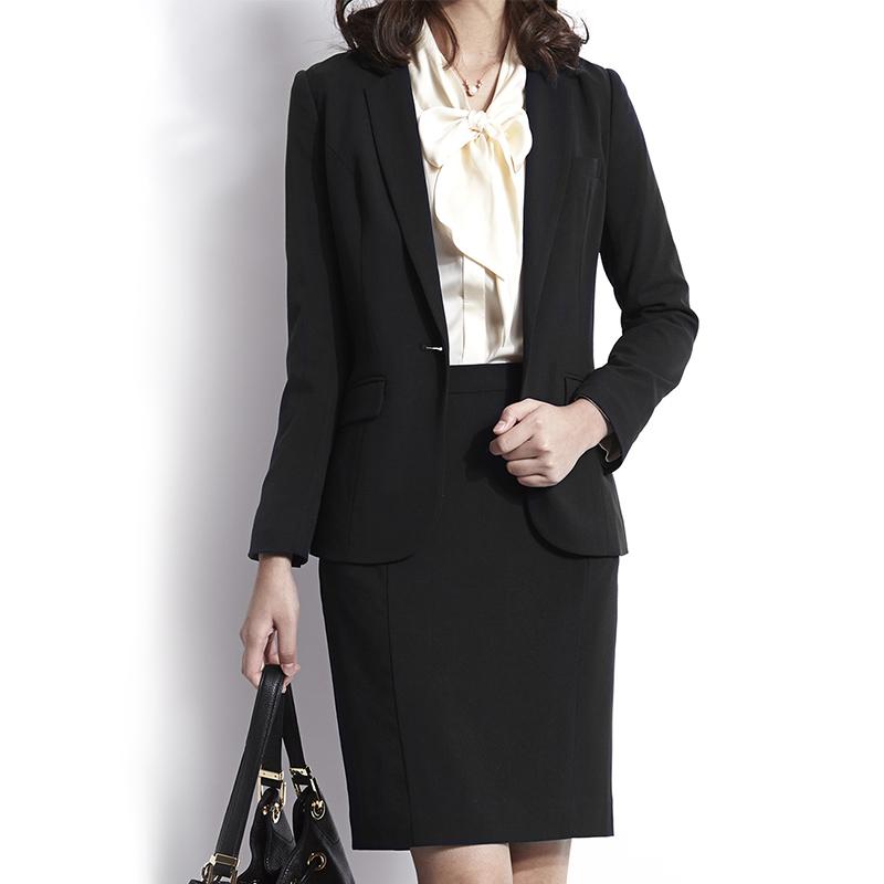 小西装 SMART西装外套女春夏黑薄款弹力修身韩版大码职业正装套装小西装_推荐淘宝好看的女小西装