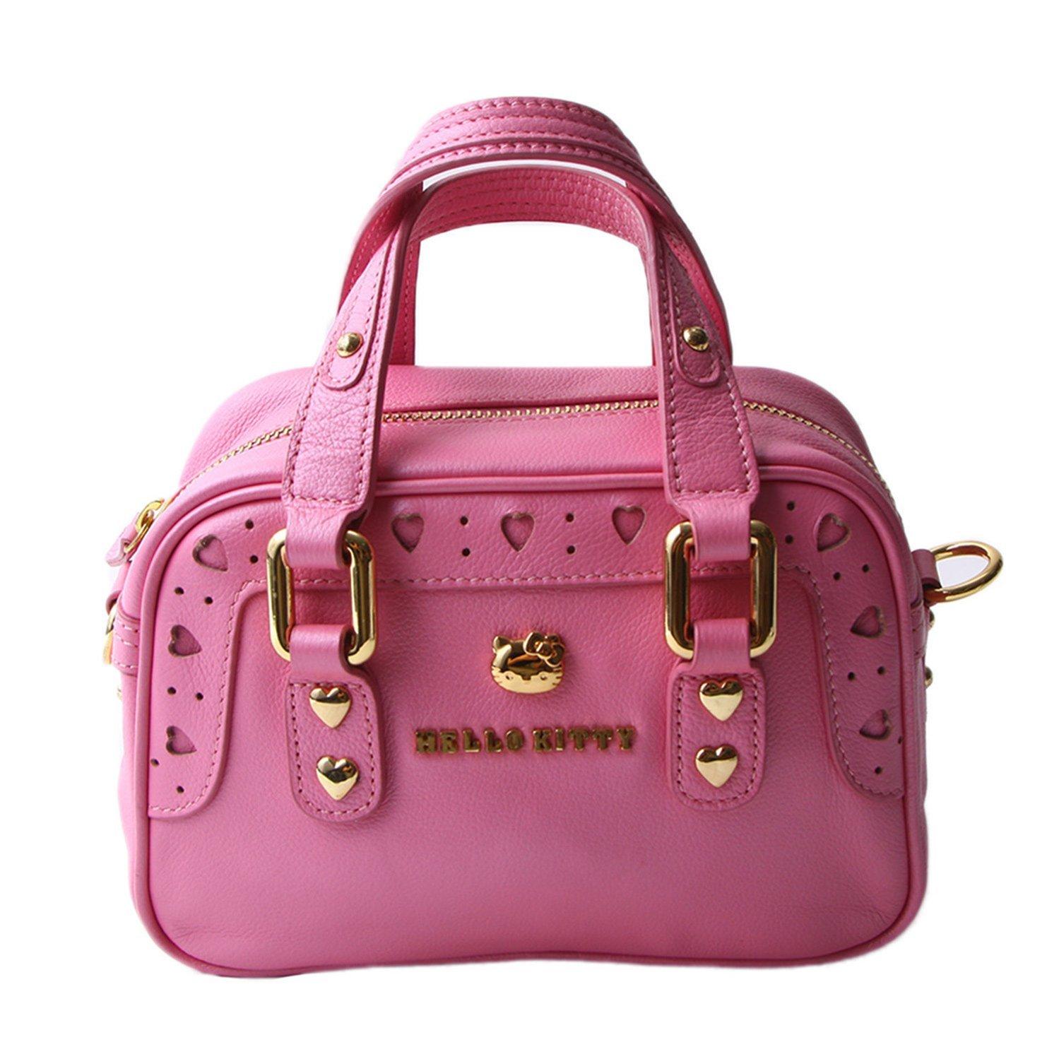 粉红色手提包 sanrio(三丽鸥) hello kitty  女式 手提包  粉红色(包邮)_推荐淘宝好看的粉红色手提包